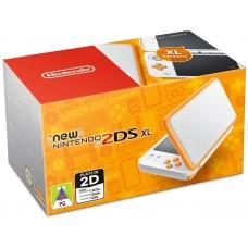 Игровая консоль New Nintendo 2DS XL бело-оранжевого цвета, 1024188, Nintendo