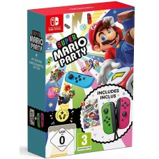Комплект Super Mario Party Joy-Con Bundle (Switch), 222739, Приключения/Экшн