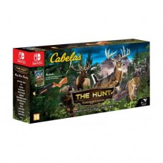 Cabelas The Hunt Championship Edition+ружье (Switch), 223539, Спорт