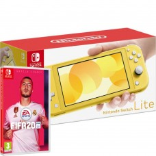 Игровая консоль Nintendo Switch Lite Yellow Bundle (игра FIFA 20), 221892, Консоли