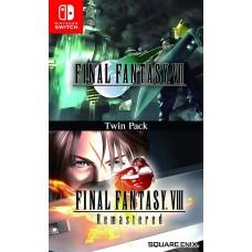 Final Fantasy VII + Final Fantasy VIII Remastered (Switch), 225482, РПГ