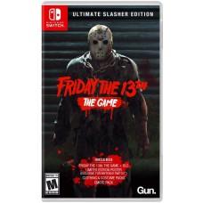 Friday the 13th The Game Ultimate Slasher Edition (Switch, русская версия), 225149, Приключения/Экшн