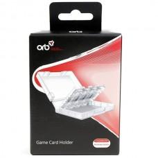 Кейс для игровых картриджей Nintendo Switch Game Card Holder (ORB), 218887, Nintendo