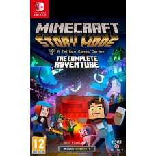 Minecraft Story Mode The Complete Adventure (Switch), 222039, Nintendo