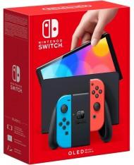 Игровая консоль Nintendo Switch OLED Neon Red Neon Blue (Switch)