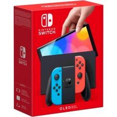 Игровая консоль Nintendo Switch OLED Neon Red Neon Blue (Switch), ,