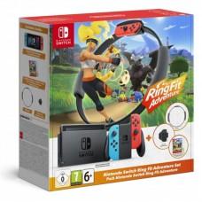 Игровая консоль Nintendo Switch Ring Fit Adventure (игра Ring Fit), 1164848, Спорт