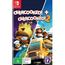 Overcooked + Overcooked 2 (Switch), ,