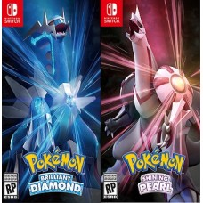 Pokemon Brilliant Diamond and Shining Pearl (Switch), ,