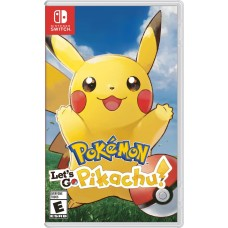 Pokemon Lets Go Pikachu (Switch..