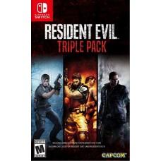 Resident Evil Triple Pack (Switch), 225521, Приключения/Экшн