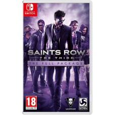 Saints Row The Third The Full Package (Switch), 223730, Приключения/Экшн