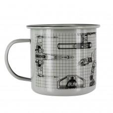Чашка Star Wars Metal Mug (Pala..