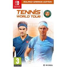 Tennis World Tour Roland Garros Edition (Switch, русские субтитры), 223760, Спорт