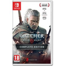 The Witcher 3 Wild Hunt Complete Edition (Switch), 225292, Приключения/Экшн
