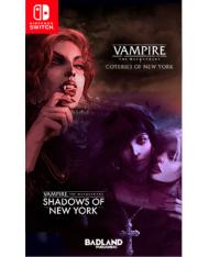 Vampire The Masquerade Cotenes of New York +Shadows of New York (Switch)