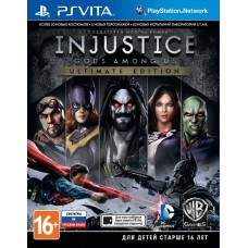 Injustice: Gods Among Us Ultimate Edition (PS VITA русские субтитры), 9162, Игры для PS VITA