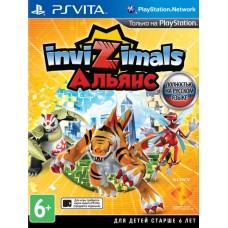 Invizimals the Alliance (PS Vita, русская версия), , Игры для PS VITA