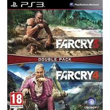 Far Cry 3 + Far Cry 4 (PS3, русская версия), 222418, Приключения/Экшн
