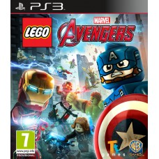 LEGO Marvel Avengers (PS3, русс..