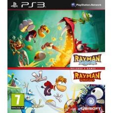 Rayman Legends + Rayman Origins (PS3), 204852, Приключения/Экшн