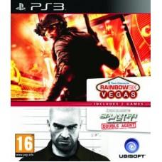Splinter Cell Double Agent + Rainbow 6 Vegas Compilation (PS3), 212201, Шутеры