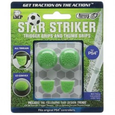 Накладки на триггеры джойстика Dualshock 4 Trigger Treadz Star Striker (4 шт.), 243123, Аксессуары
