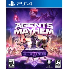 Agents of Mayhem (PS4, русские ..
