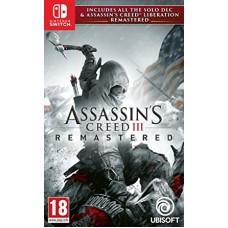 Assassins Creed III Remastered (Switch, русская версия), 223556, Приключения/Экшн