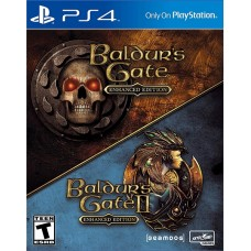 Baldurs Gate and Baldurs Gate II Enhanced Edition (PS4, русские субтитры), 225118, РПГ