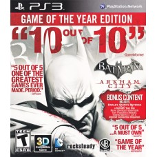 Batman: Arkham City Game of the Year Edition (PS3, русские субтитры), , Приключения/Экшн
