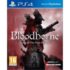 Bloodborne Game of The Year Edition (PS4, русские субтитры), 179746, РПГ