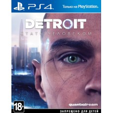 Detroit Become Human (PS4, русская версия) Б/У, ,