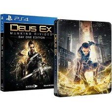 Deus Ex Mankind Divided Steelbook Edition (PS4, русская версия), 217218, РПГ