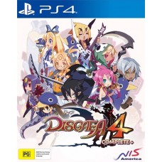 Disgaea 4 Complete + A Promise of Sardines Edition (PS4), 224082, РПГ