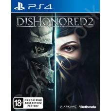 Dishonored 2 (PS4, русская версия)