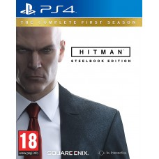 Hitman Complete First Season Steelbook Edition (PS4, русские субтитры), 166964, Шутеры