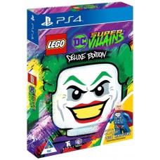 LEGO DC Super Villains Deluxe Minifigure Edition (PS4, русские субтитры), , Приключения/экшен