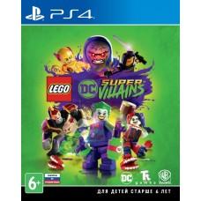 LEGO DC Super Villains (PS4, русские субтитры), 222477, Приключения/экшен
