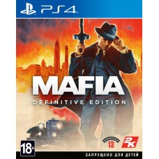 Mafia Definitive Edition (PS4, русская версия), 227098, Приключения/экшен