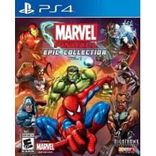 Marvel Pinball Epic Collection Volume 1 (PS4), 218126, Приключения/экшен