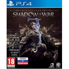 Middle-Earth Shadow of War (PS4..