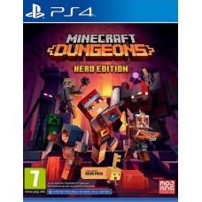 Minecraft Dungeons Hero Edition (PS4, русская версия), ,
