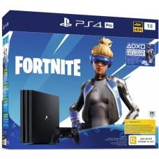 PlayStation 4 Pro (1 Tb, CUH-72XX, черный) Fortnite Neo Versa Bundle, 9941507, Консоли