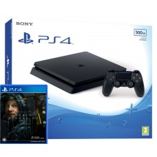 PlayStation 4 SLIM Bundle (500 Gb, Death Stranding), 222133, Консоли