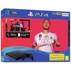 PlayStation 4 SLIM Bundle (500 Gb, FIFA 20), 235173, Консоли