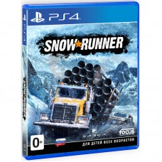 SnowRunner (PS4, русская версия), PS4, Гонки