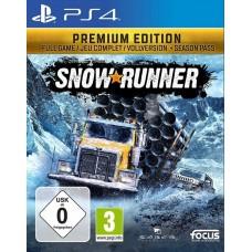 Snowrunner Premium Edition (PS4, русская версия), ,