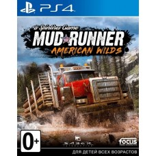 Spintires MudRunner American Wilds Edition (PS4, русские субтитры), 222052, Гонки