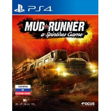 Spintires Mudrunner (PS4, русск..